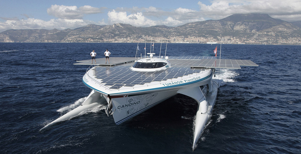 Solar-powered-boat-PlanetSolar